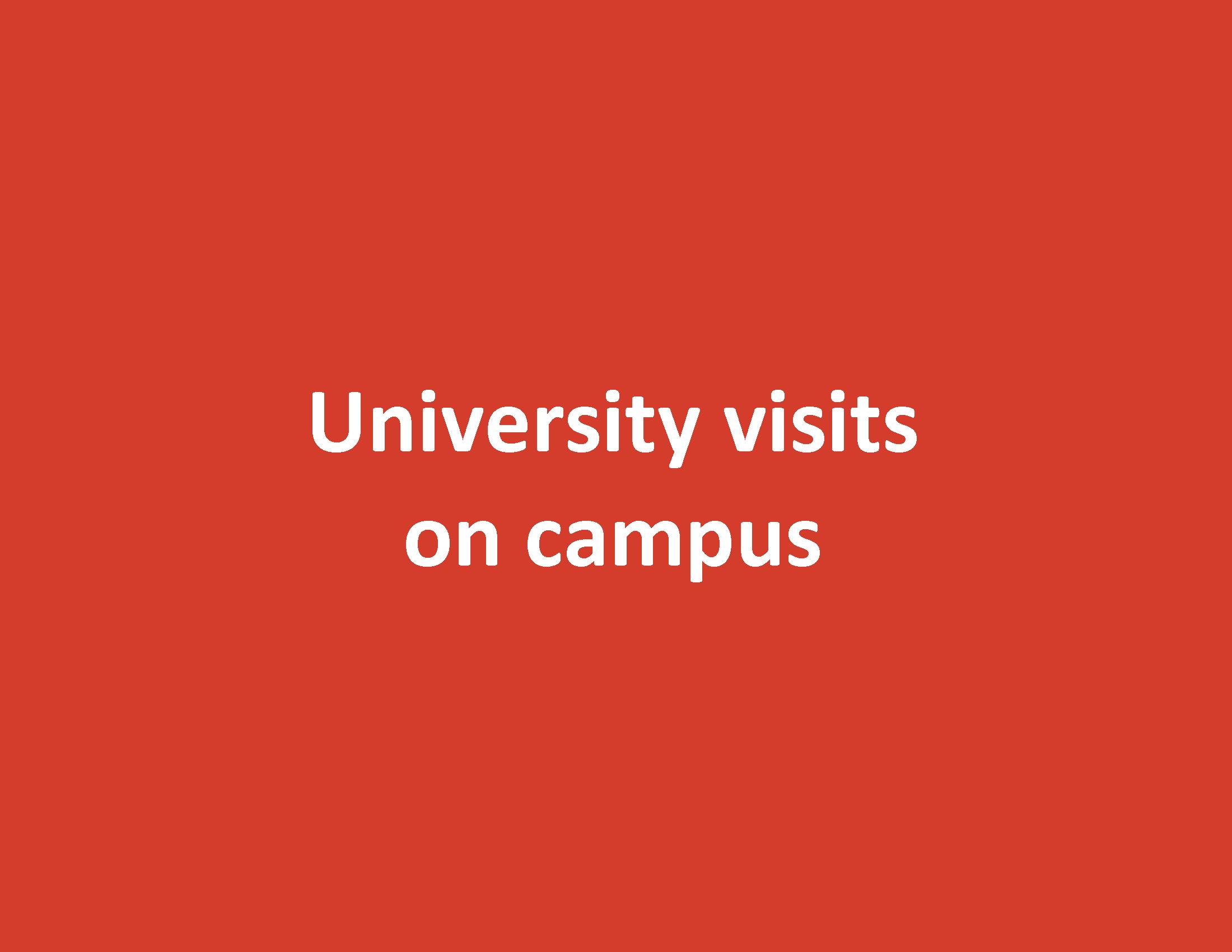 University Visit - University of British Columbia